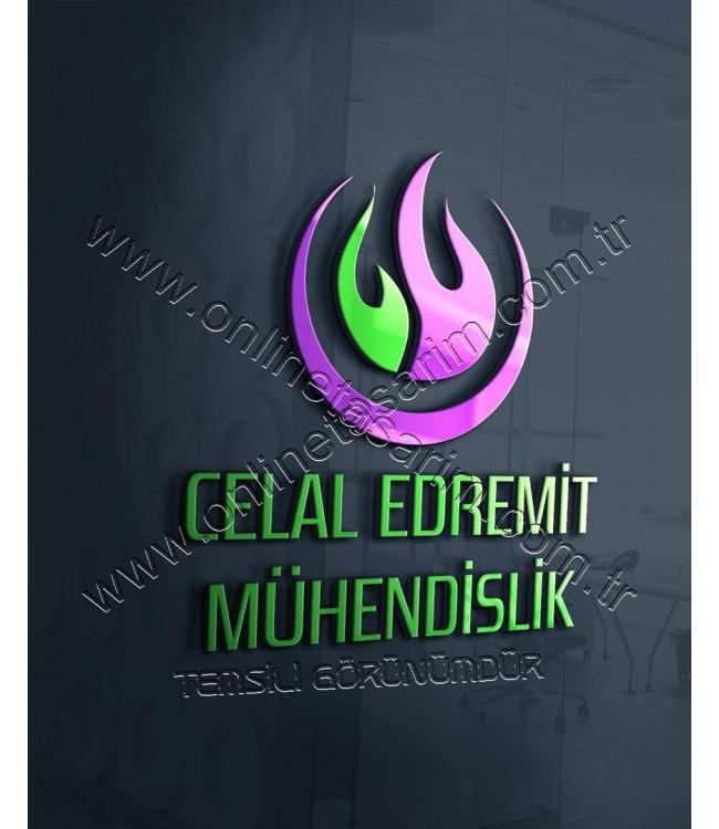 Mühendislik, Doğalgaz, Tesisat Firması Logo Tasarım Örnekleri