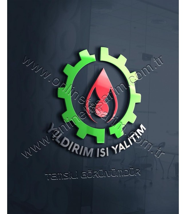 Doğalgaz Logosu, Ateş, Alev Sembollü Logo Tasarım Çalışması