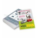 Nakliye lojistik taşımacılık hazır broşür tasarım şablonu