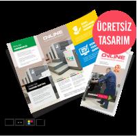 Ekonomik Katlamalı Broşür Çift Kırım (290TL)