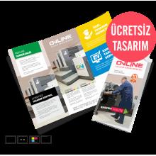 Ekonomik Katlamalı Broşür Çift Kırım (390TL)