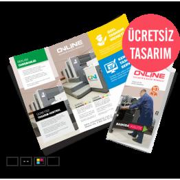 Ekonomik Katlamalı Broşür Çift Kırım (420TL)