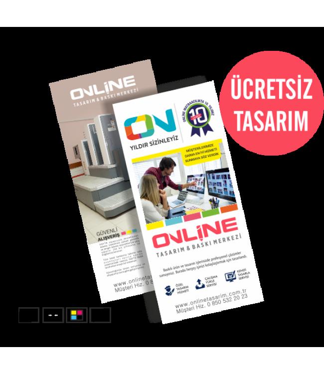 İnce Ekonomik Broşür Online Tasarım Matbaa