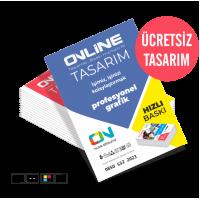 Profesyonel Çift Yön Broşür (220 TL)