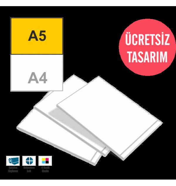 A5 Ortaboy Katalog Online Tasarım Matbaa