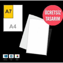 Mini Kitapçık (10x14cm)