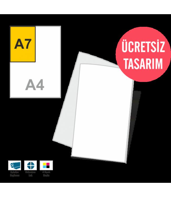 A7 Mini Kitapçıklar Online Tasarım Matbaa