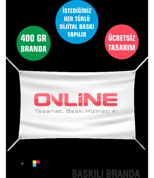Baskılı Branda 400 gr Online Tasarım Matbaa