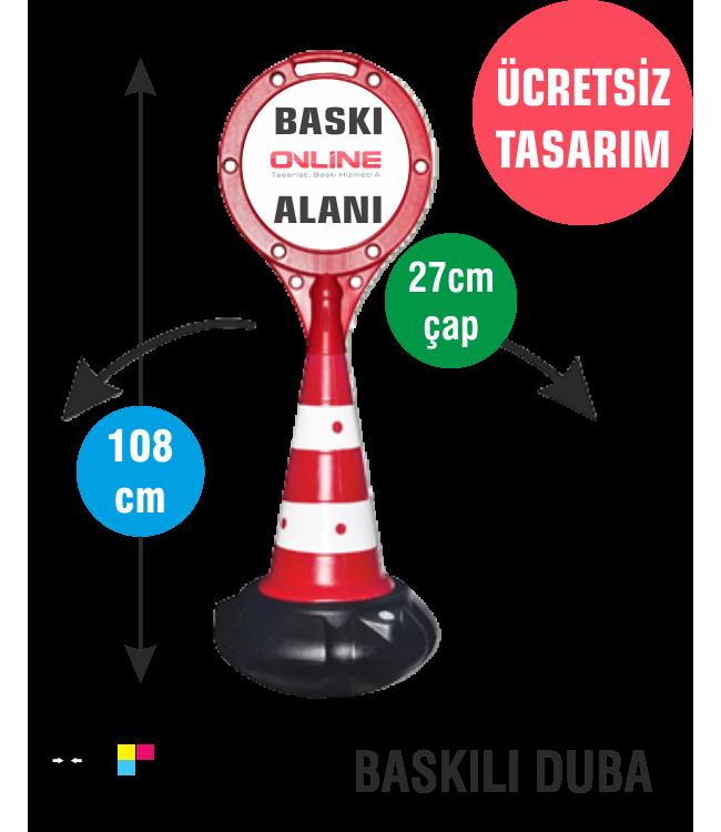 Kırmızı Hacıyatmaz Reklam Dubası - Raket Başlıklı