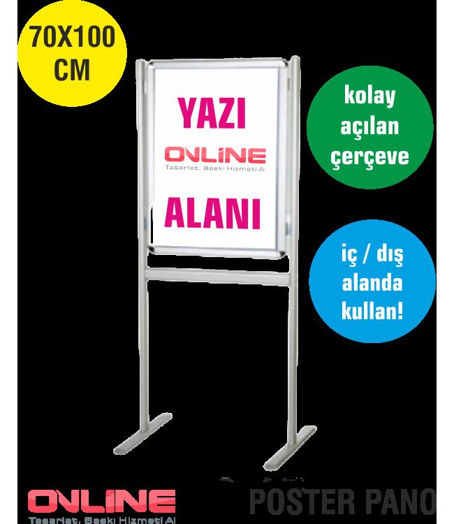 Uzun Baskılı Yer Tipi Poster Reklam Tabelası