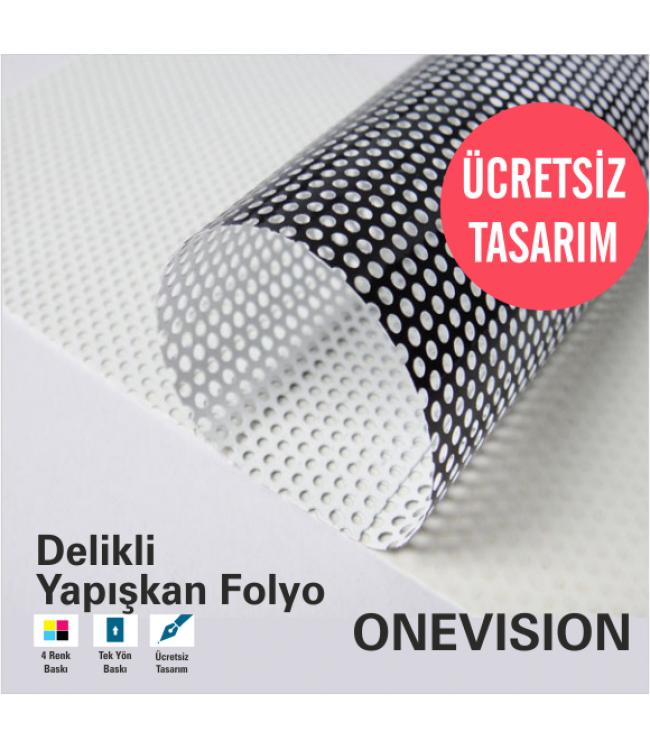Onevision Delikli Folyo Baskı ve Tasarım Hizmetleri Online Tasarım'da
