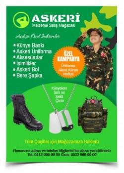 Askeri Malzeme Broşür