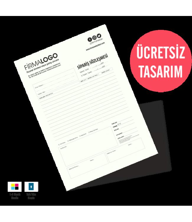 Sipariş formları Makbuz Fiş Kalite Baskı Online Matbaa