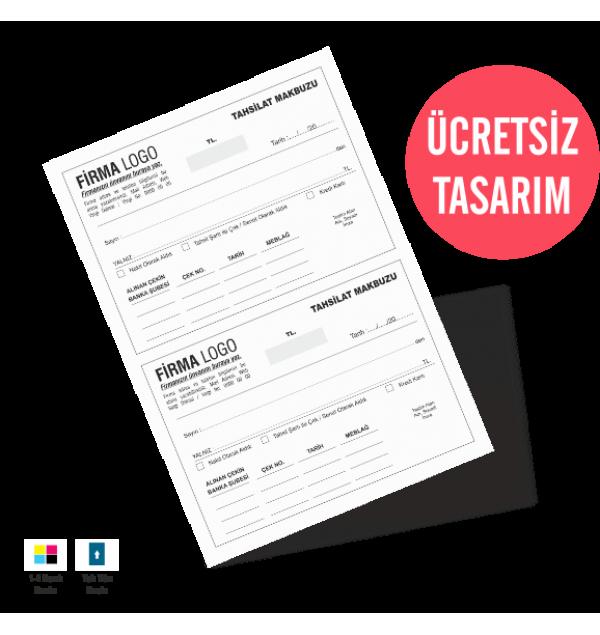 Tahsilat Makbuzu Form Baskı Kalite Baskı Online Matbaa