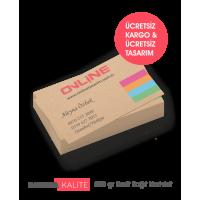 Kraft Kağıt Kartvizit (145 TL)