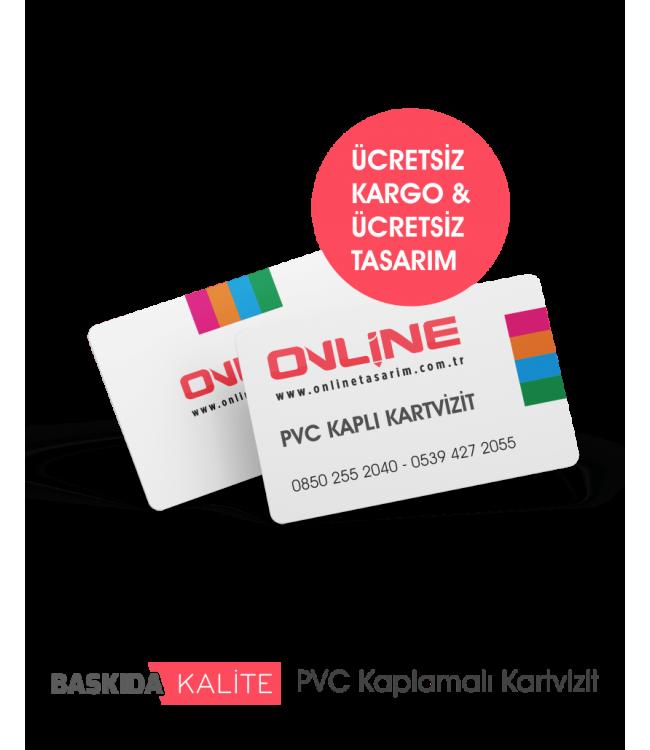 PVC Plastik Kaplamalı Kartvizit Örnekleri, PVC Kartvizit Fiyatları