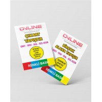Yapışkanlı Sticker Kartvizit (95TL)
