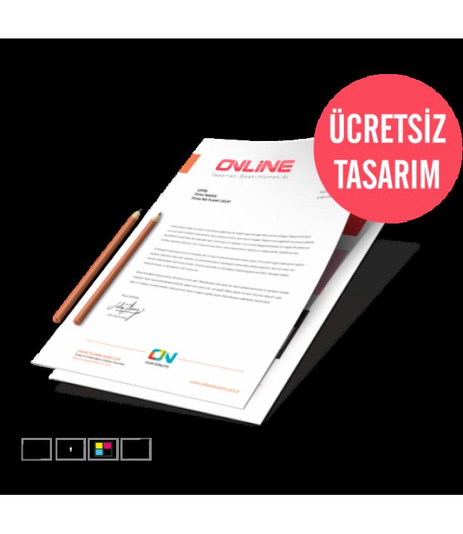 Online Antetli Kağıt Baskı - Kaliteli Kağıt