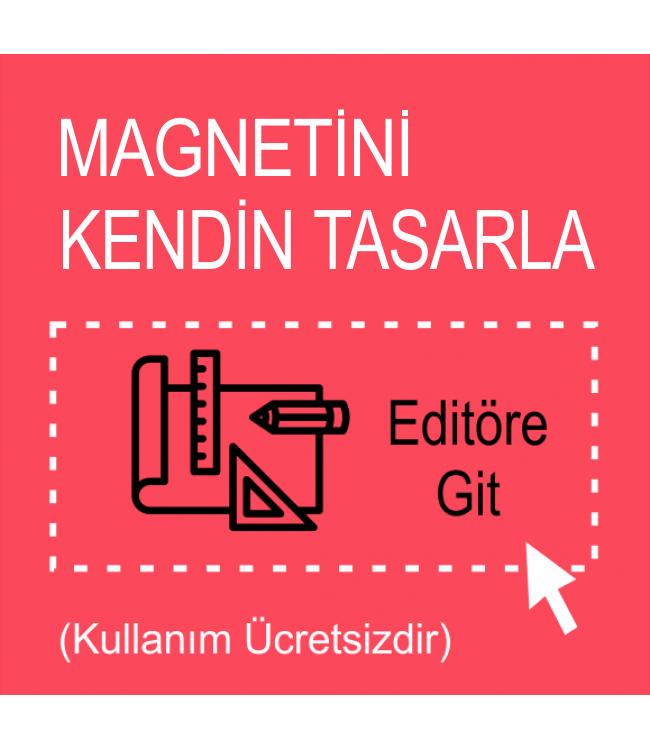 Magnet Kendin Tasarla Online Tasarım Matbaa