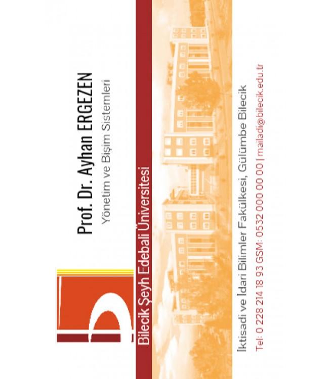 Şeyh Edebali Üniversitesi Kartvizit