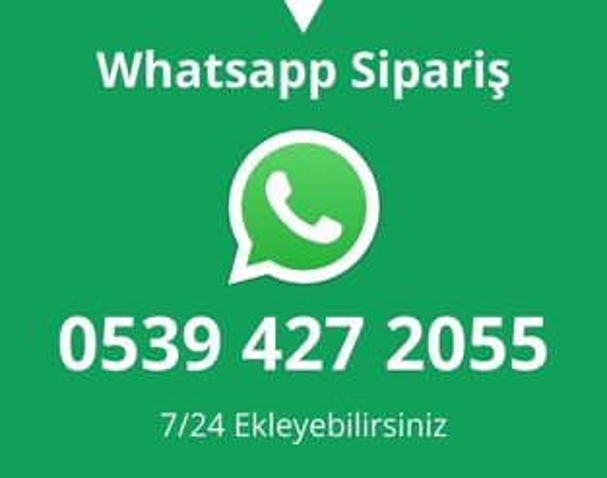 Whatsapp'tan Kartvizit Siparişi Ver